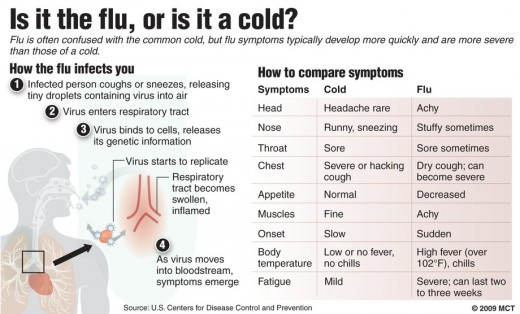 Is it the flu, or is it a cold?
